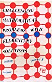 img - for Challenging Mathematical Problems with Elementary Solutions, Vol. 1: Combinatorial Analysis and Probability Theory. book / textbook / text book