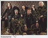 Snakecharmer (Band) Whitesnake FULLY SIGNED Photo 1st Generation PRINT Ltd 150 + Certificate (2)