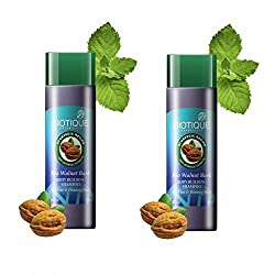 Biotique Bio Walnut Bark Body Building Shampoo (120ml) (pack of 2)