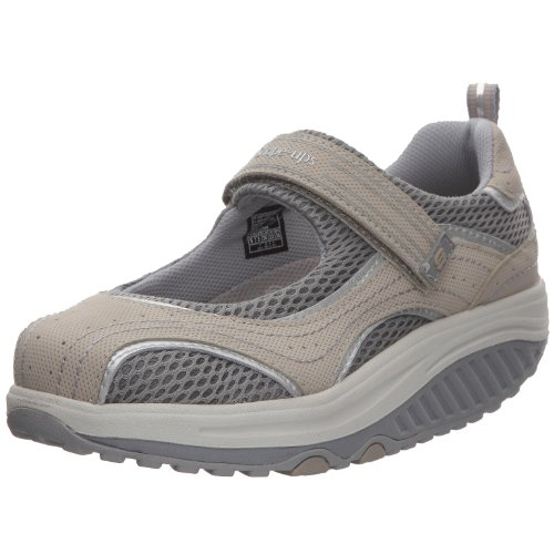 Skechers Womens Grey Velcro  7 UK