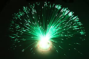 Domire Colour Changing Fibre Optic Fountain - Night light Calming Lamp by Domire