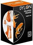 Dylon Machine Fabric Clothes Dye - 55 Goldfish Orange 200g Now With Added Dye Salt
