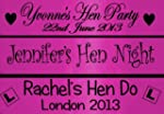 Personalised 80cm Hot Pink Hen Party...
