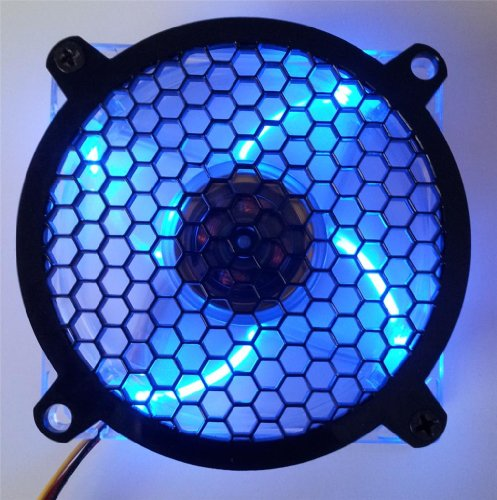 Custom Acrylic Honeycomb Computer Fan Grill 92mm (Custom Acrylic 92mm Fan Grill compare prices)