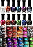 Kleancolor Nail Polish - Awesome Metallic Full Size Lacquer Lot of 12-pc Set Body Care / Beauty Care / Bodycare / BeautyCare