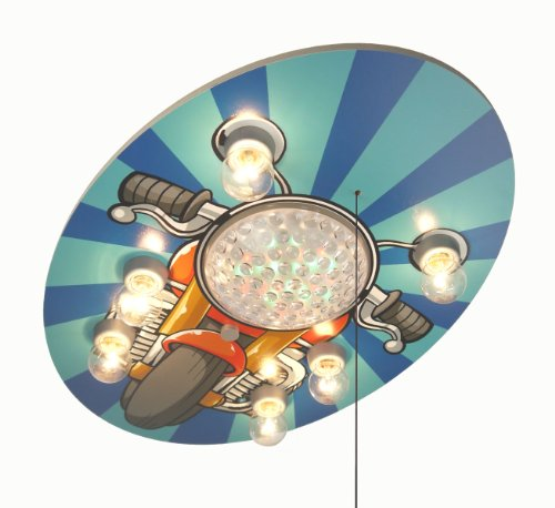 Niermann Standby Led Ceiling Lamp, Motorcycle
