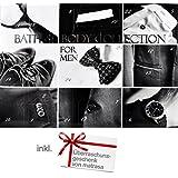Adventskalender für Ihn mit 24 Überraschungen - Weihnachtskalender für Männer für Herren Utensilien für Bad & Körper - inkl 1 Überraschungsgeschenk von matrasa