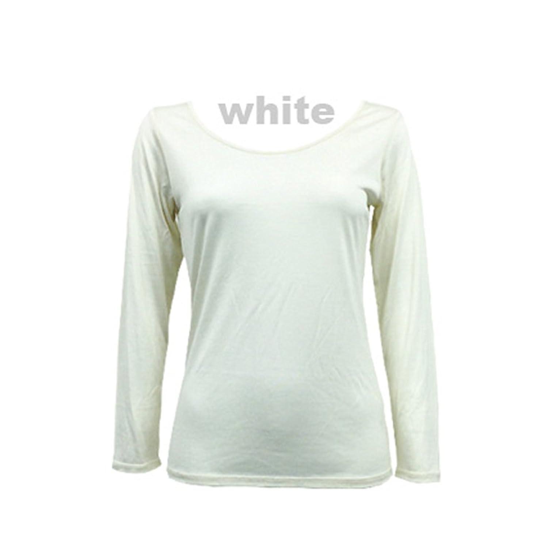 【冷え取り下着専門店】 おうちで洗える極細100双 シルク100% 長袖
