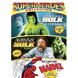 Superheroes Collection (The Incredible Hulk Returns / Trial of the Incredible Hulk / How to Draw Comics)