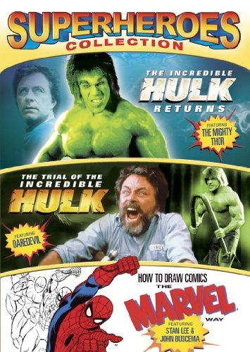 INCREDIBLE HULK RETURNS/TRIAL OF THE INCREDIBLE HU