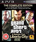 GTA Grand Theft Auto IV 4 & Episodes from Liberty City Complete Edition PlayStation 3 PS3 Games