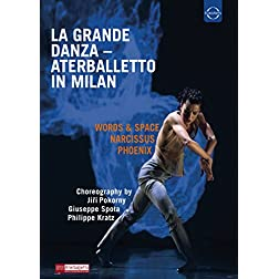 La grande danza: Aterballetto in Milan [Blu-ray]
