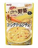 明治 やわらか食 ごろっと野菜 【区分2】 コーンクリームシチュー 100g×12袋