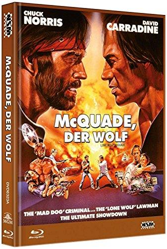 Mc Quade der Wolf - uncut (Blu-Ray+DVD) auf 555 limitiertes Mediabook Cover A [Limited Collector's Edition] [Limited Edition]