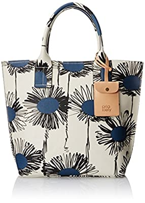 Orla Kiely Textured Vinil Sunflower Print Tillie Bag