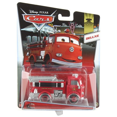 Mattel-Y0539-Disney-Pixar-Cars-Deluxe-in-bergre-Die-Cast-Vehicle-rot