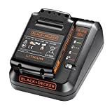 Black + Decker BDC1A15-GB 18 V 1 A Fast Charger with 1.5 Ah Battery Pack
