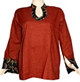 Party Wear Tunic & Top Womens Clothing Blouse-Indian Boho Ladies Casual Wear Kurta Size XXL