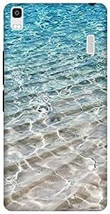 The Racoon Lean printed designer hard back mobile phone case cover for Lenovo K3 Note. (Crystal Se)