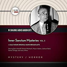 Inner Sanctum Mysteries, Vol. 3: The Classic Radio Collection Radio/TV Program Auteur(s) :  Hollywood 360,  CBS Radio - producer Narrateur(s) : Paul McGrath, Boris Karloff,  full cast