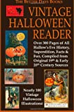 Various Authors The Better Days Books Vintage Halloween Reader