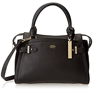 Vince Camuto Robyn Small Satchel,Black,One Size