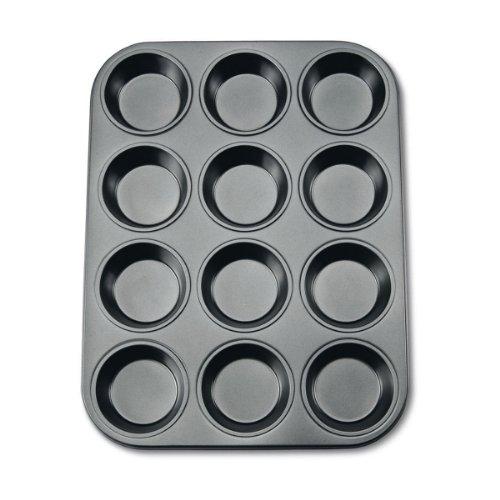 stadter-488069-muffinform-in-geschenkverpackung-mit-rezept-12-formen-antihaft-beschichtung-oe-70-cm-