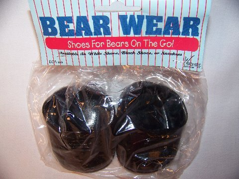Bear Wear Black Shoes