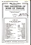 img - for The Daughter of the Rose of Tralee (Mills Choral Edition, No. 263 - for Mixed Voices (S.A.T.B.)) book / textbook / text book
