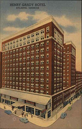 Henry Grady Hotel Atlanta, Georgia Original Vintage Postcard (Hotels In Downtown Atlanta compare prices)