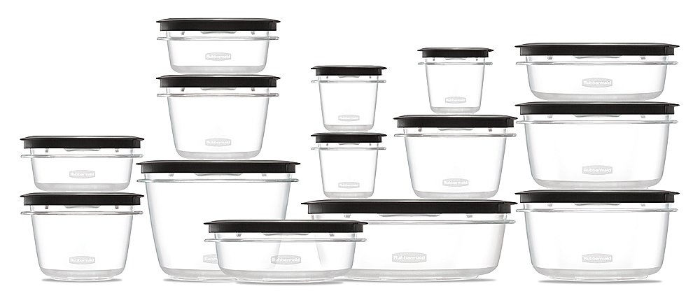 Rubbermaid Rubbermaid Premier Food Storage Containers 28-Piece Set Grey  sc 1 st  Chickadee Solutions & Rubbermaid Rubbermaid Premier Food Storage Containers 28-Piece ...