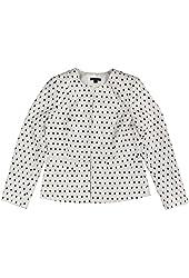 Tommy Hilfiger Women's Printed Collarless Jacket