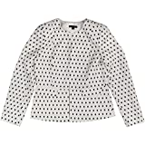 Tommy Hilfiger Women's Printed Collarless Jacket