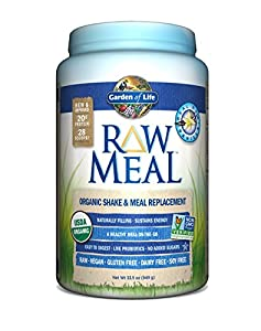 Garden of Life Garden of Life RAW Organic Meal Vanilla 33.5 oz (949g) Powder (Packaging May Vary)