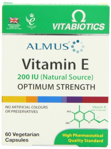 Almus Vitamin E - Pack of 60 Capsules