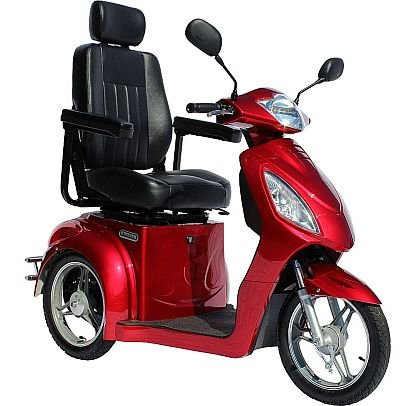 Challenger Sport 3-wheel Fast Electric High Power Mobility Scooter Red – Genuine Top Quality
