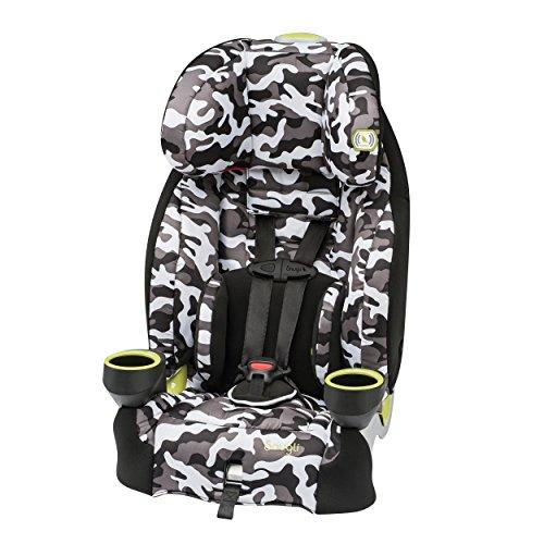 Snugli Harnessed Booster Seat, Camo - 1