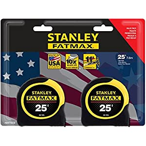 Stanley FATMAX 25-ft Locking SAE Tape Measure FMHT74038Z