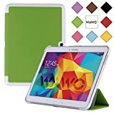 WAWO Samsung Galaxy Tab 4 10.1 Inch Tablet Smart Cover Creative Fold Case - Green