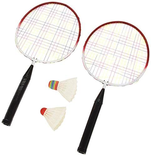 Kim'Play - 138 - Jeu de Plein air - Badminton - 2 Raquettes / Volant