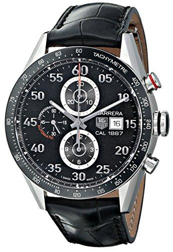 TAG Heuer Men's THCAR2A10FC6235 Carrera Analog Display Swiss Automatic Black Watch