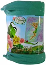 Tinkerbell Sparkly Fleece Blanket Throw Polyester