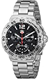 TAG Heuer Men's CAU1112.BA0858 Formula 1 Black Dial Chronograph Quartz Watch
