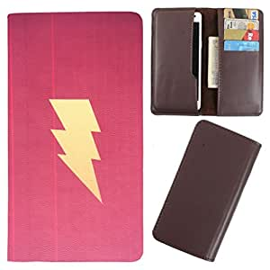 DooDa - For Alcatel Flash PU Leather Designer Fashionable Fancy Case Cover Pouch With Card & Cash Slots & Smooth Inner Velvet