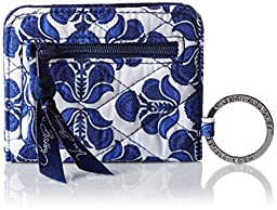 Vera Bradley Campus Double ID Pouch, Cobalt Tile, One Size