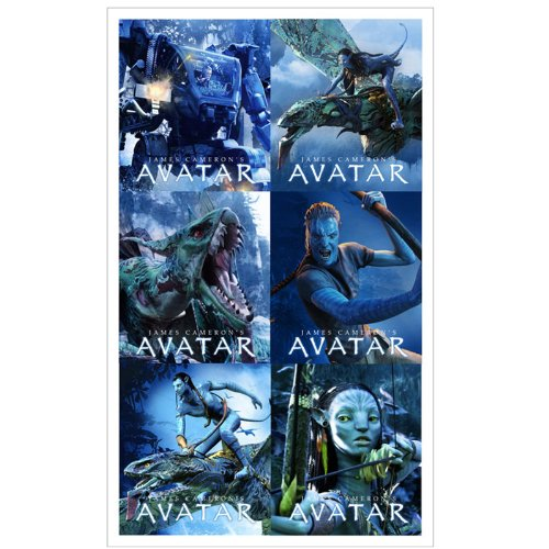 Avatar Stickers Package of 4