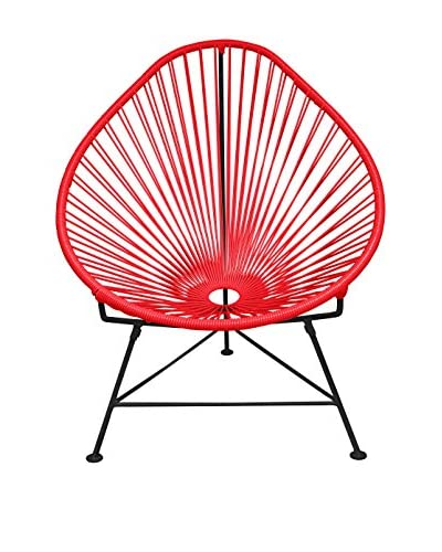 Innit Designs Acapulco Chair, Red/Black