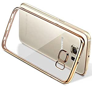 LYF Wind 6 (LS-5009) Gold Electroplated Ultra Thin Flexible Transparent Silicon Back Cover For LYF Wind 6 (LS-5009)