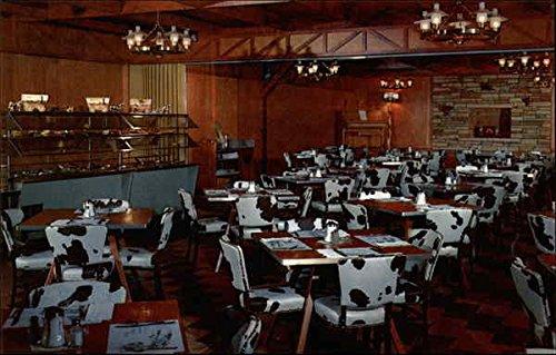 Ranch Room At The Seven Eleven Cafe Vernal, Ut Original Vintage Postcard