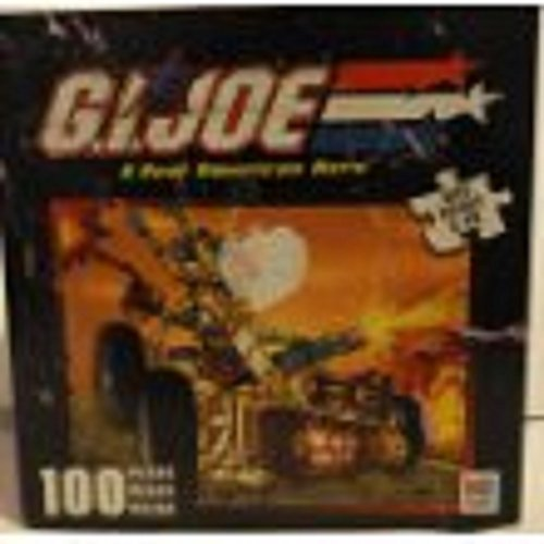 G. I. Joe a Real American Hero 100 Piece Puzzle - See Picture